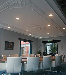 Ornamenten plafond for Gips decor images