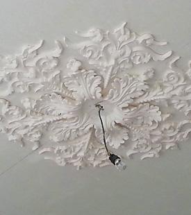 zwevend barokplafond stucadoorsbedrijf caspers